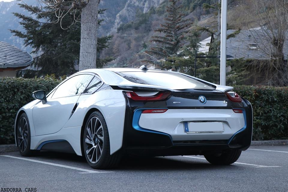 BMW I8 White All Andorra Bmw