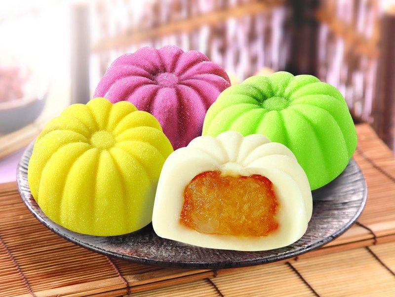 """Рисовое пирожное """"Моти"""" - национальное блюдо Японии"""