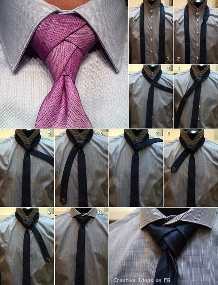 разные способы завязывания галстука фото владивостоку каждый