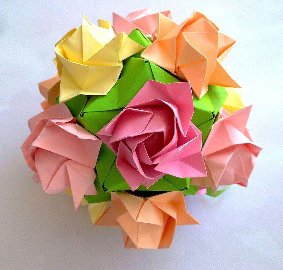 картинка искусство оригами мужчине