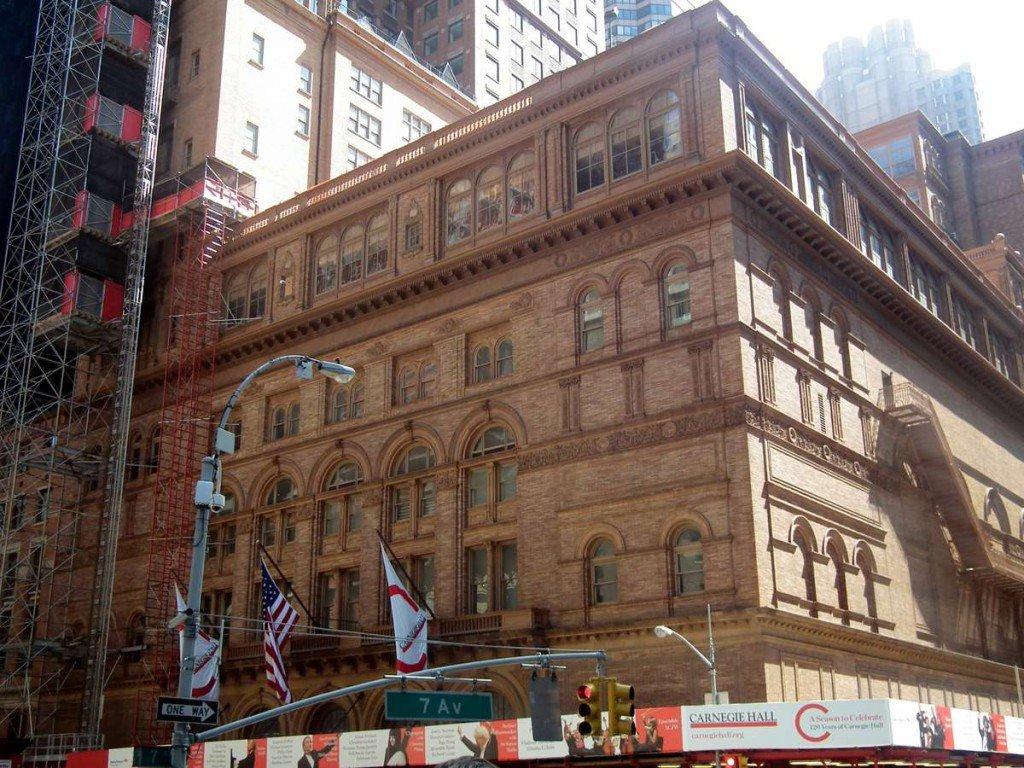 10c5aed42a4d Карнеги-Холл - концертный зал в Нью-Йорке, великий музыкальный центр  Соединенных Штатов