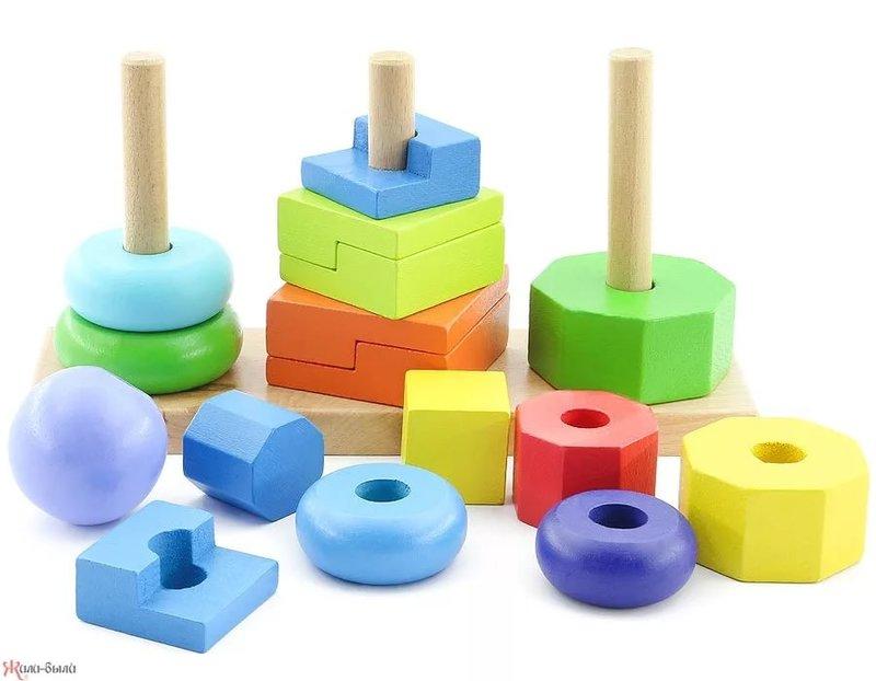 Деревянные развивающие игрушки МДИ купить в интернет-магазин