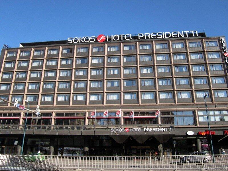 Sokos Hotel Presidentti, Хельсинки