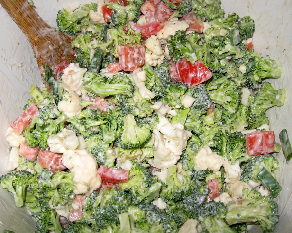 салаты из брокколи для похудения