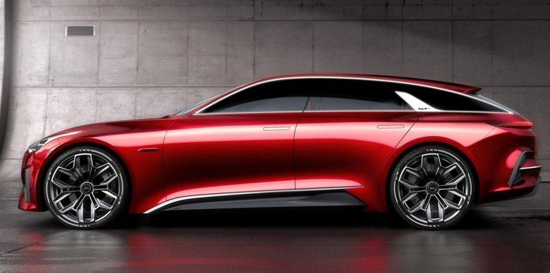 Красный и шикарный Kia Proceed Concept.
