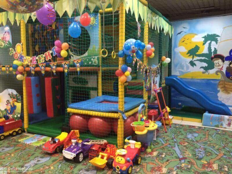 Детская игровая комната — страна чудес