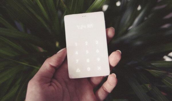 Ультра-минималистичный телефон