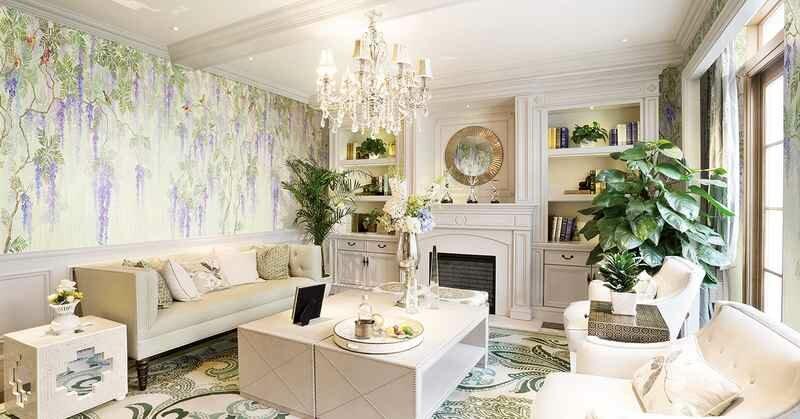 Озеленение гостиной комнатными растениями сделает ее более уютной и привлекательной
