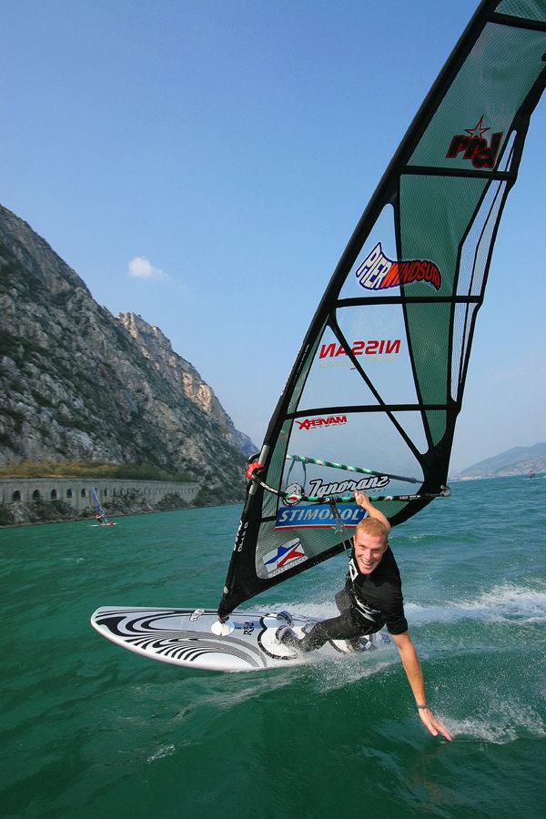 Виндсерфинг на озере Гарда