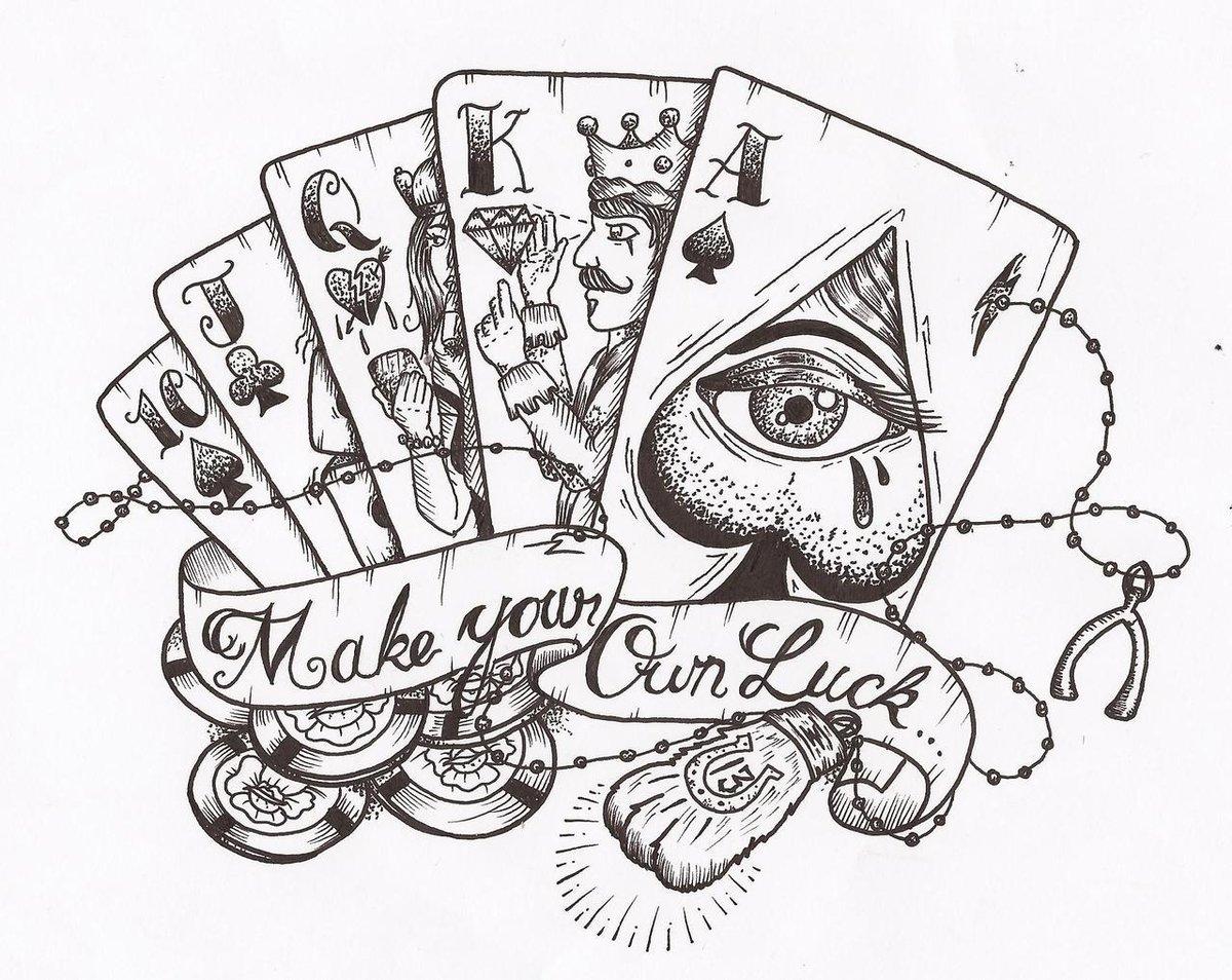 Татуировки картинки карты