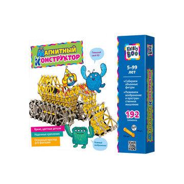Kribly Boo (192 деталей) - магнитный развивающий конструктор для детей от 5 лет.
