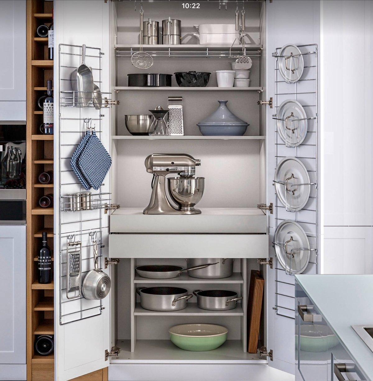 как правильно расставить шкафы на кухне фото давно известно