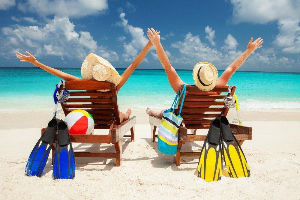 Картинки прикольные про лето и отпуск, днем