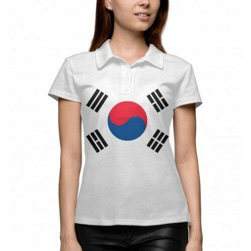 Женское поло 3D Южная Корея
