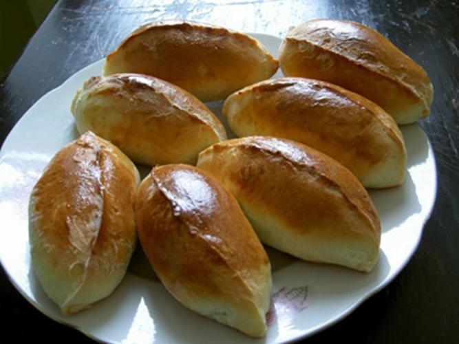 Пирожки в картошкой в духовке рецепт пошагово