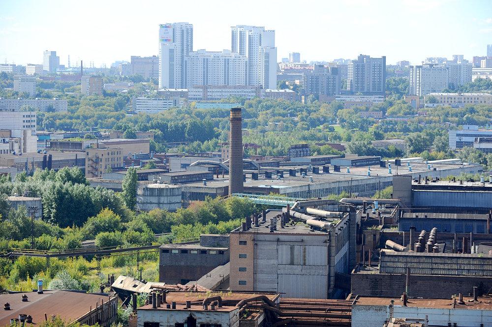 промышленные районы москвы