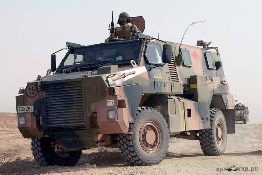 Бронеавтомобиль ''Bushmaster'' Австралия