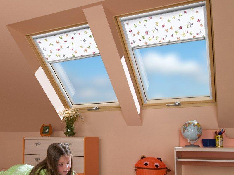 Мансардные окна в детской