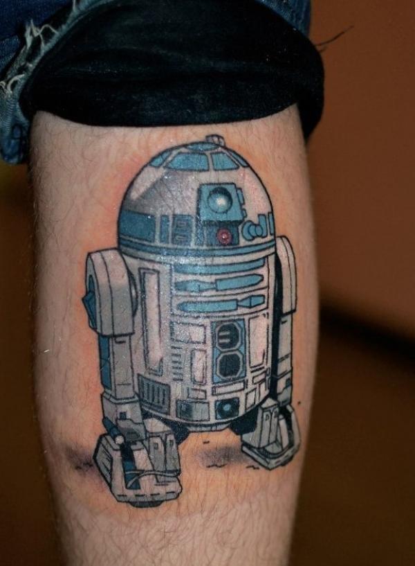 R2-D2 из звездных войн на икре
