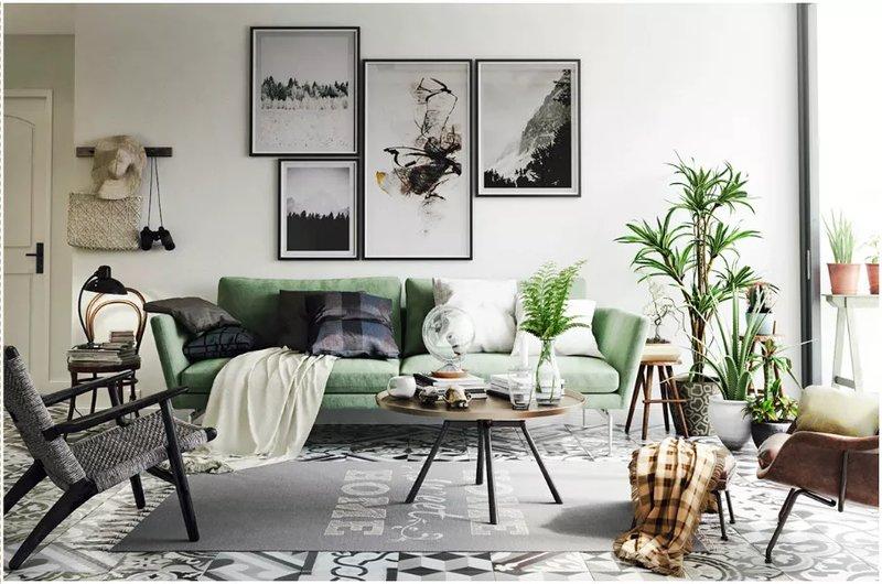 С помощью комнатных растений можно легко и без затрат создать стильный дизайн своего дома.