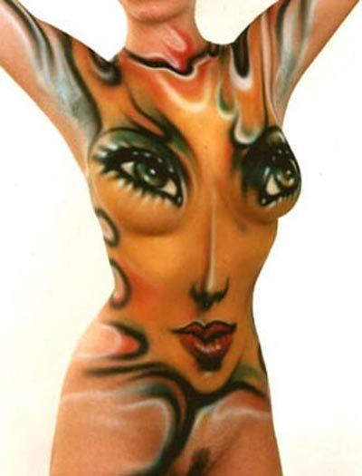 Профессиональные художники нанесут на Ваше тело боди арт, Вашим деткам - аквагрим