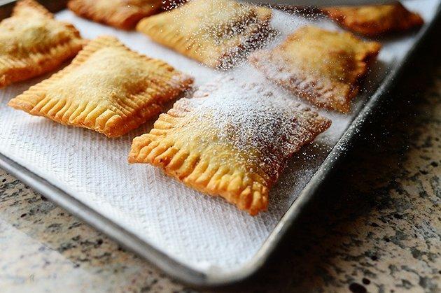 Быстрые пирожки на сковороде
