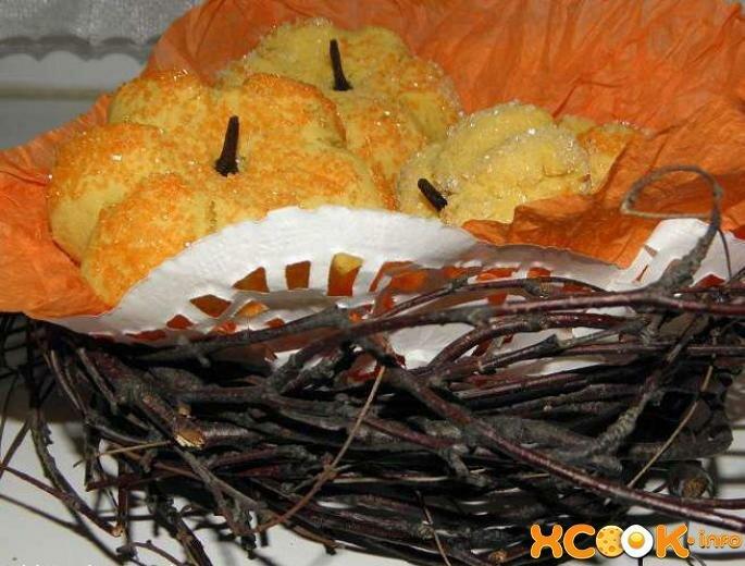 Печенье на Хэллоуин «Тыква» - один из вариантов тематической выпечки для Дня всех святых, которая готовится просто, а выглядит оригинально и аппетитно.