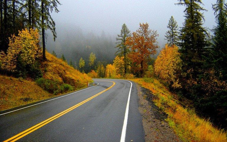 Осеннее шоссе
