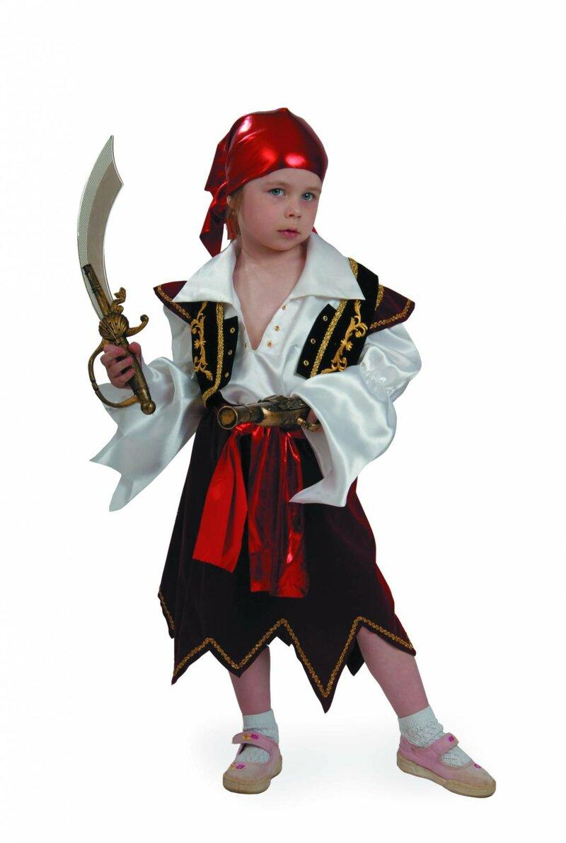 костюм пиратки в детский сад на утренник