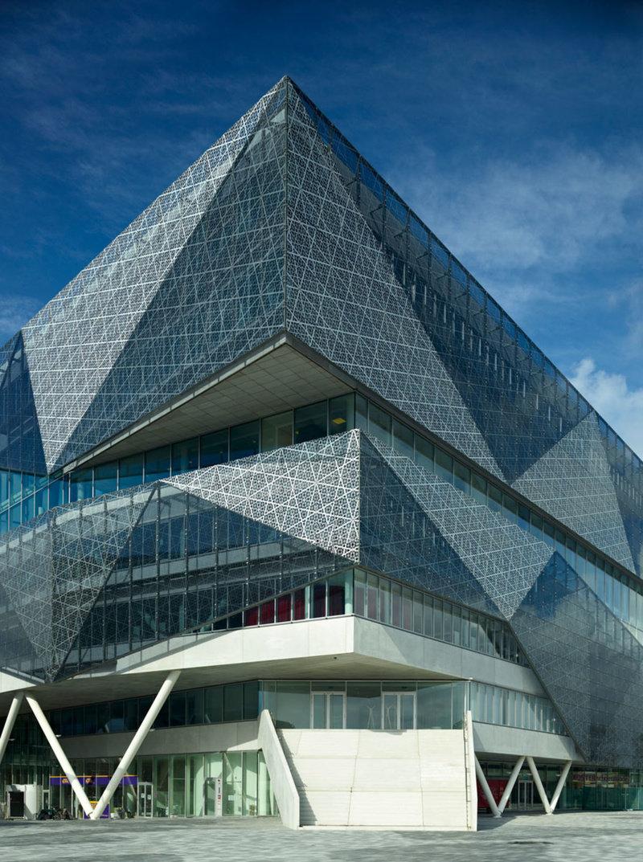 многофункциональный центр stadshuisnieuwegein, нидерланды фото