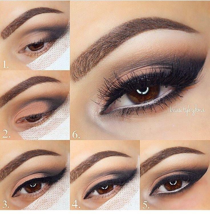 Более 25 лучших идей на тему «Свадебный макияж глаз» на Pinterest ... Очень красивый макияж для карих глаз