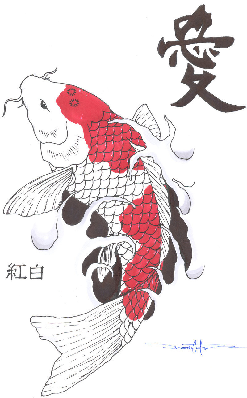 японские рисунки картинки