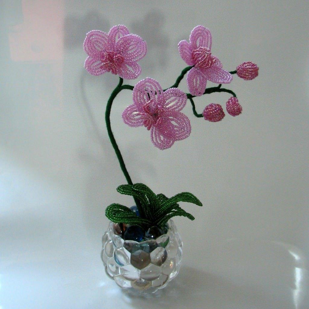 пирог картинка орхидея из бисера повседневной жизни