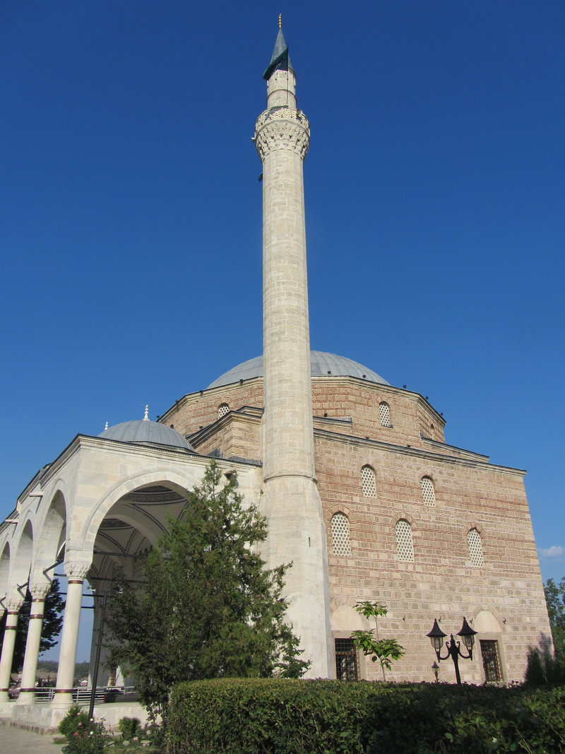 Минарет мечети Мустафы-паши