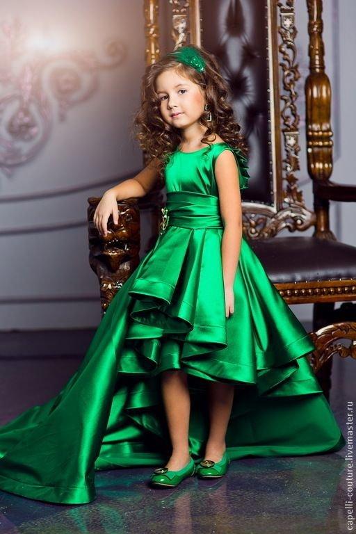 раскошное платья для девочек