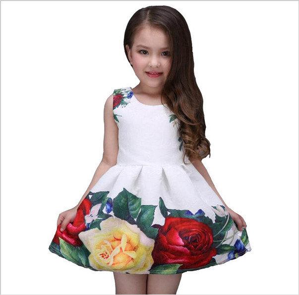 модное платье на праздник для девочек
