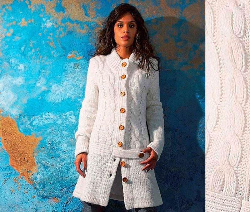 желаете пальто женское спицами своими руками отличие множества производителей