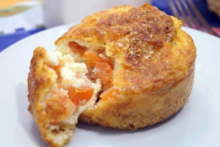 Омлет в духовке пошаговый рецепт с фото