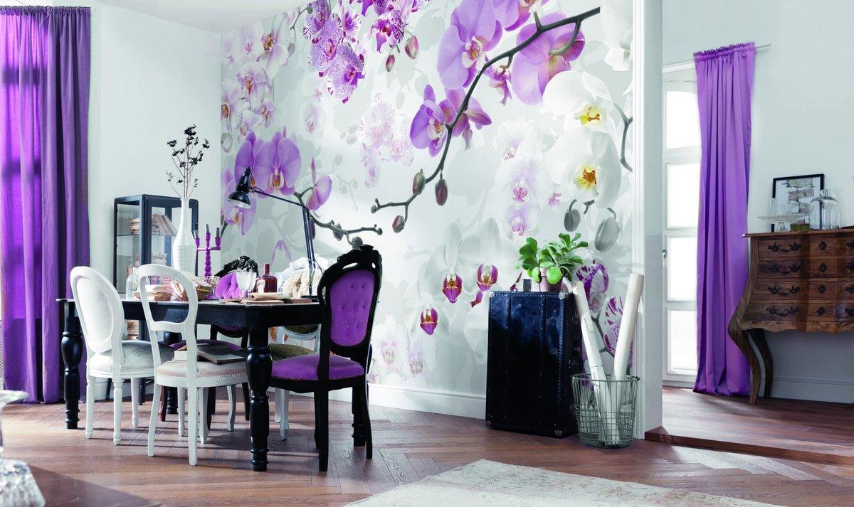 Спокойной ночи, картинки с цветами на стену