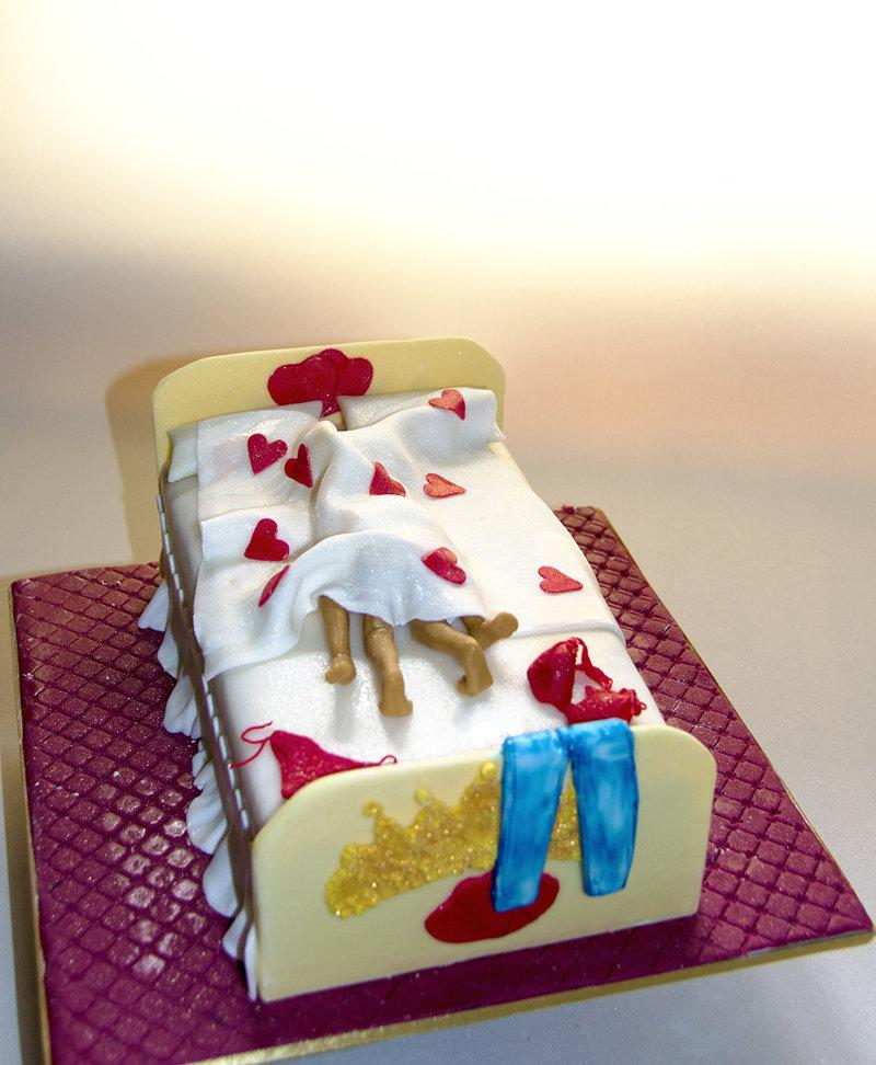 Сценический торт.
