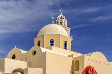 кафедральный собор католический в фира на санторини