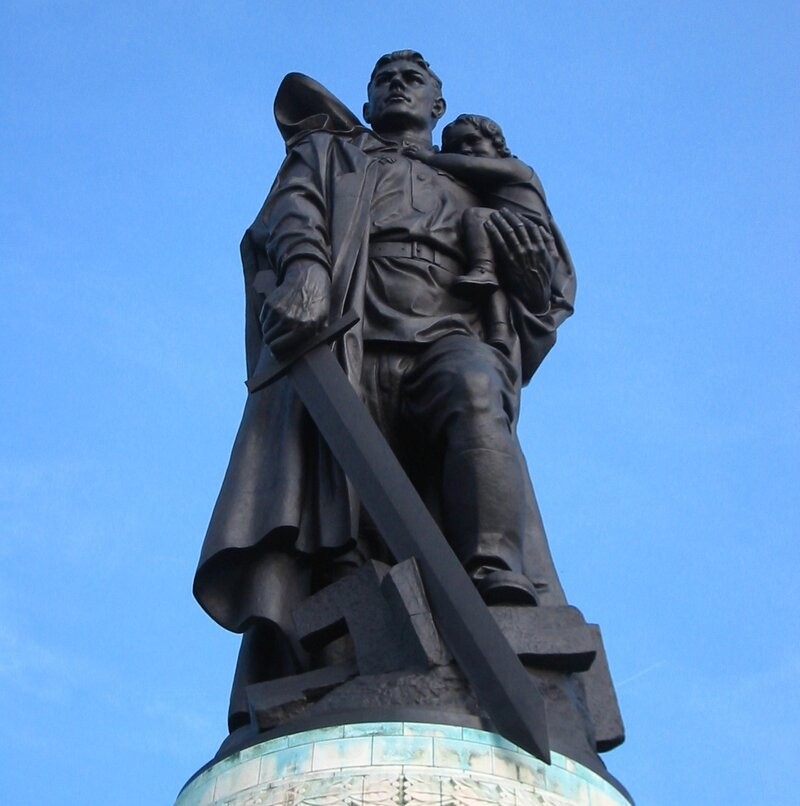 """Монумент """"Воин - освободитель"""". Берлин"""