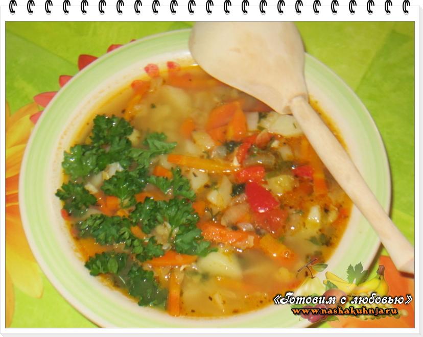 Такой суп-пюре можно предложить и взрослым,.