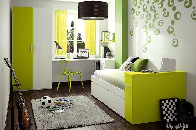 Стильная комната для подростка.