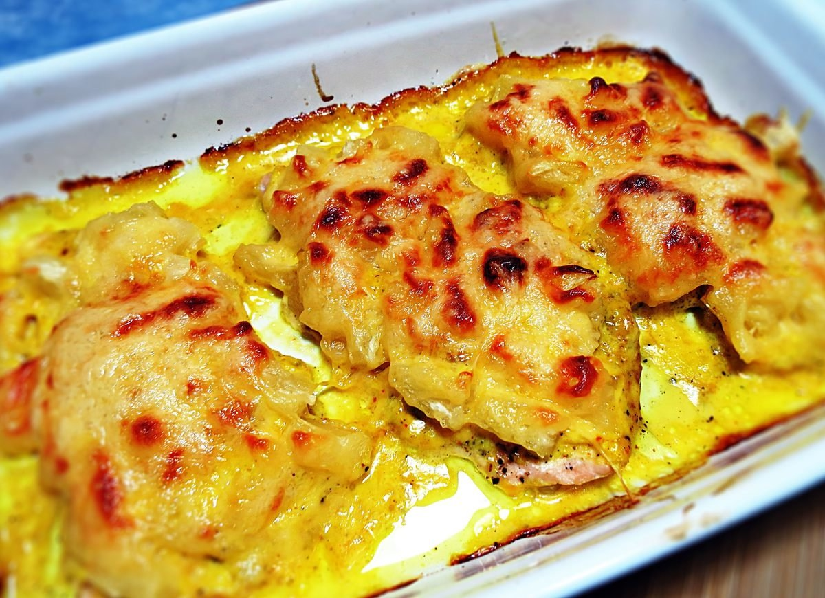 куриные отбивные в духовке рецепт с фото с картошкой