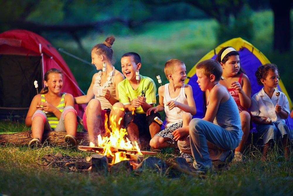 Прикольные, картинки лагерь дети