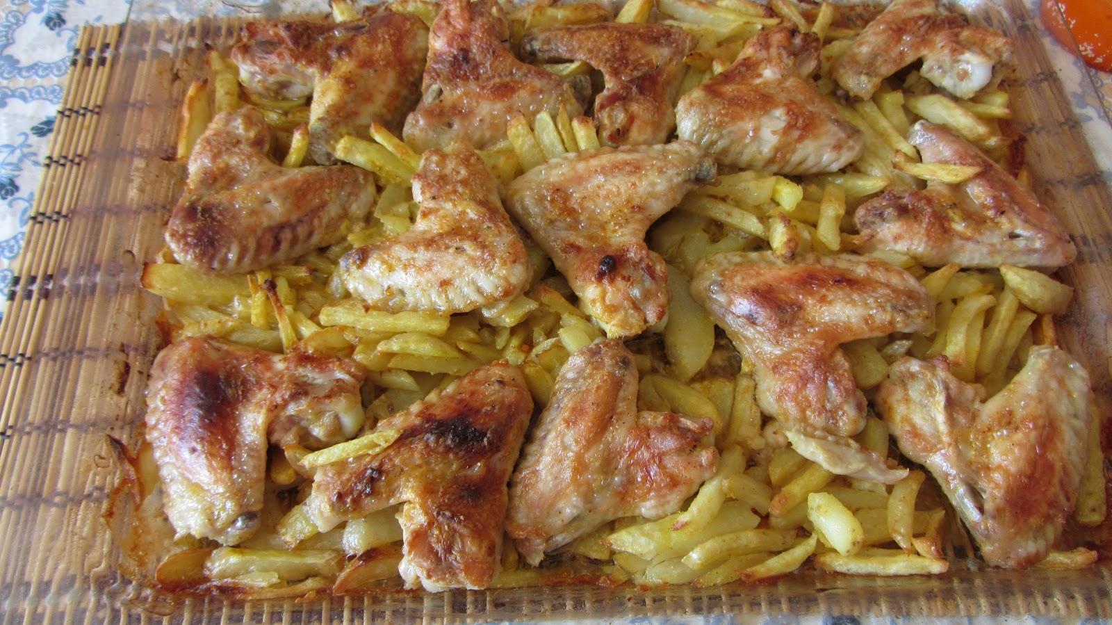 куриные крылышки с медом в духовке рецепт с фото