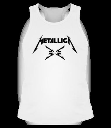 Мужская майка борцовка Metallica (4M logo)