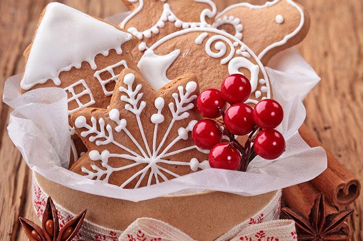 Имбирное печенье с медом и корицей