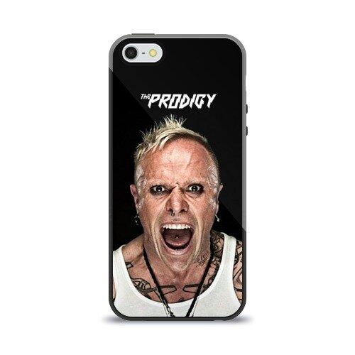 Чехол для Apple iPhone 5/5S силиконовый глянцевый The Prodigy